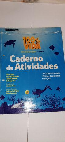 Cadernos atividades 6° ano