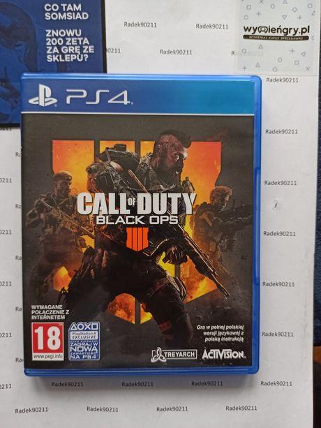 Call of Duty Black Ops 4 IIII COD BO PS4 PlayStation 4 PS5