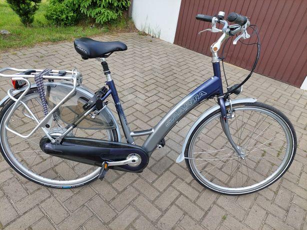 Rower Sparta aluminiowy elektryczny