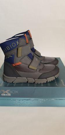 Непромокаемые зимние ботинки GEOX Amphibiox Flexyper 28р, 31р,33р, 35р