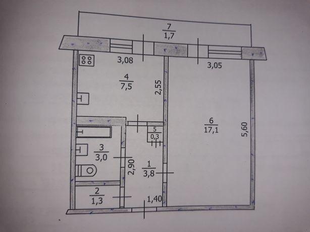 Продам однокомнатную квартиру на ПШСе