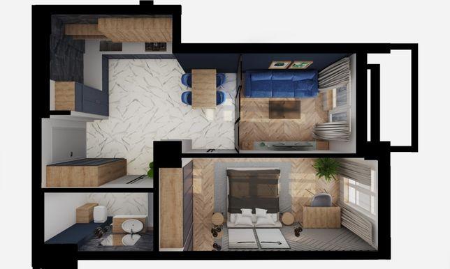 1-кімнатна квартира-студія, в новобудові, м. Червоноград