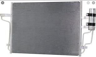 Ford Escape 2013 2014 2015 2016 радиатор кондиционера 2,0