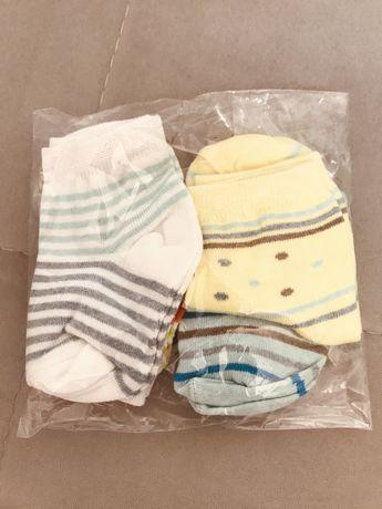 Носочки для новонароджених,набір щітка для волосся,ножиці дитячі