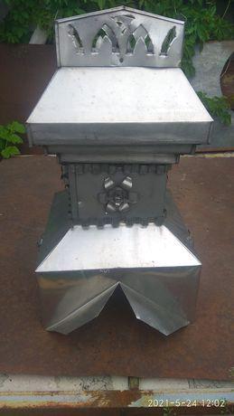 Декоративный колпак на дымоход.
