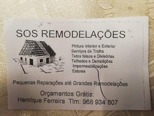 Renovações de construção civil