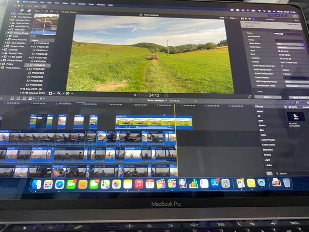 Montaż filmów, vlogów, spotów reklamowych.