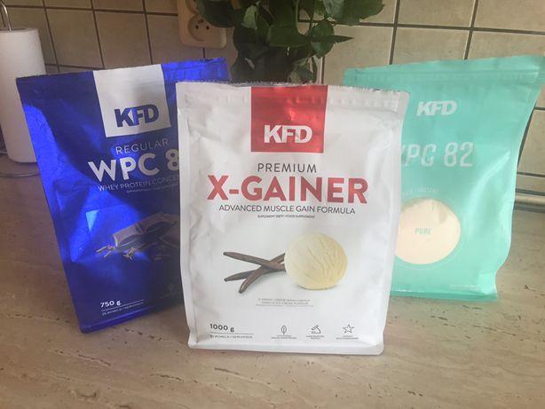 Dwa białka i gainer KFD