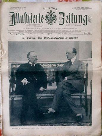 Unikat z 1914.Niemiecka gazeta.