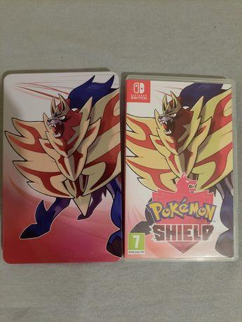 Pokemon shield + steelbook