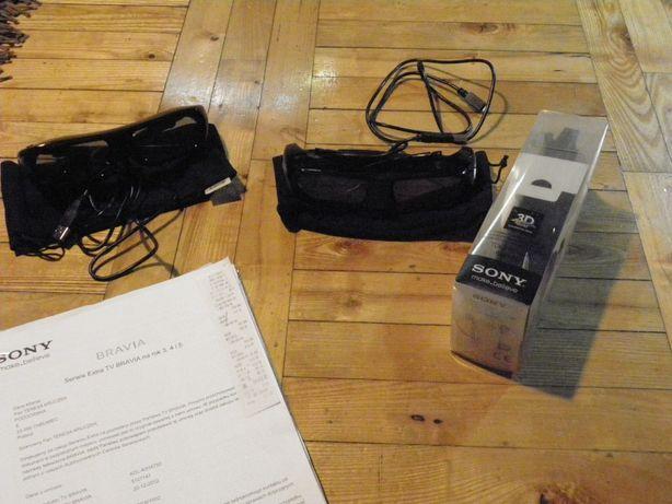 Okulary 3D TDG-BR250 Sony