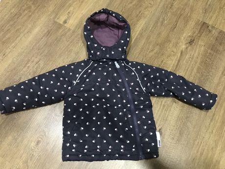 Куртка на девочку демисезонная 86