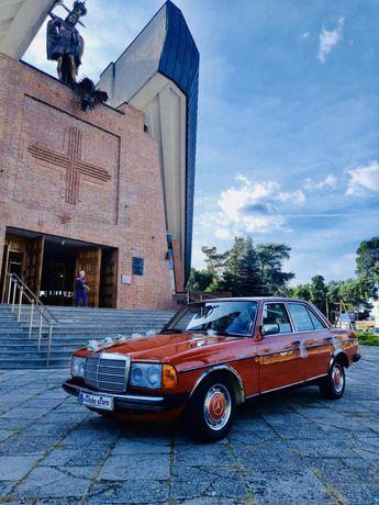 Auto do ślubu Mercedes 1981r