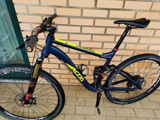 Bicicleta suspensão Total ztr29+XT+fox kashima