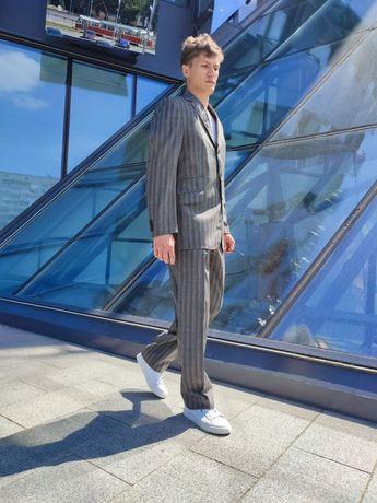 Etro костюм чоловiчый/ мужской 52 лен100%