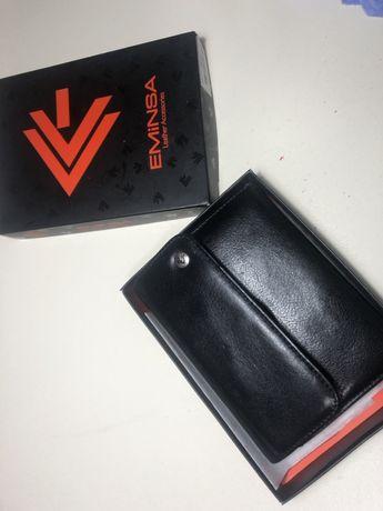 Eminsa кошелек , гаманець, кожа