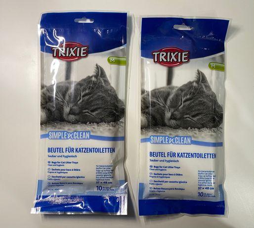 Пакеты гигиенические для кошачего туалета TRIXIE, 37x48cм