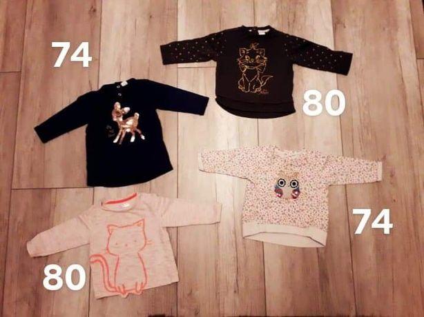 Bluza bluzka 74 i 80