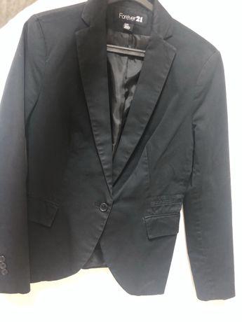 Blazer preto, forever21, tamanho S