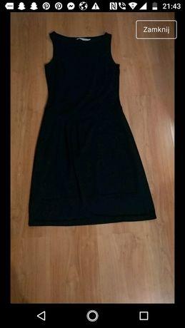 Czarna długa sukienka roz. S