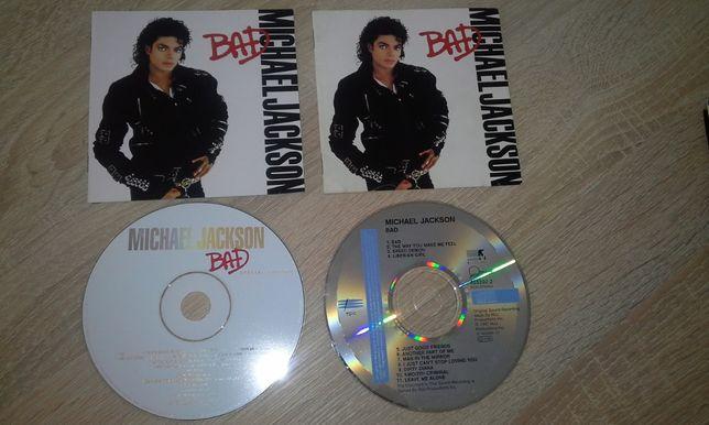Michael Jackson płyta CD 1987 i 2001 rok -BAD