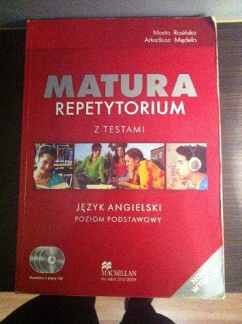 Angielski MATURA Repetytorium + 3 CD