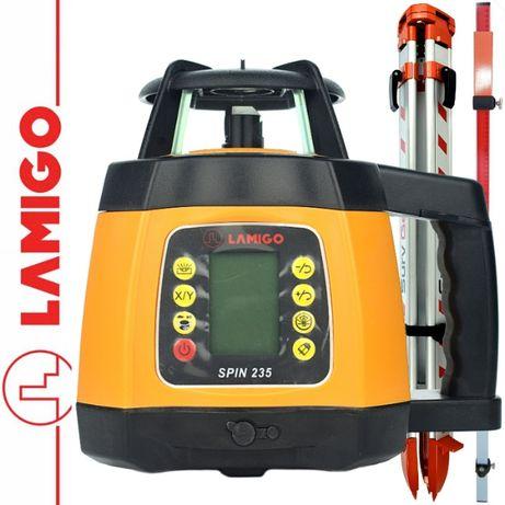 Lamigo Spin 235 - Niwelator Laserowy + statyw + łata