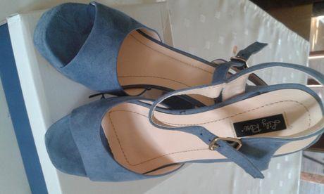 Sandały buty na obcasie lily rose r 38
