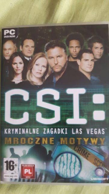 Gra PC CSI: Kryminalne zagadki wersja językowa PL komputer używana