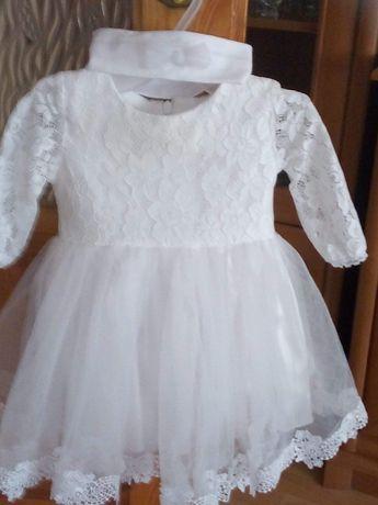 Sprzedam sukienkie do chrztu