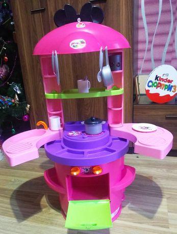 Кухня детская смоби Мики Мини Маус smoby набор кухонный minni mouse