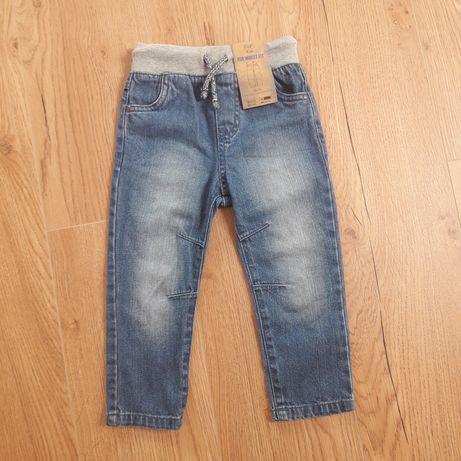 Paczka ubrań 92 dla chłopca spodnie bluzy bluzki