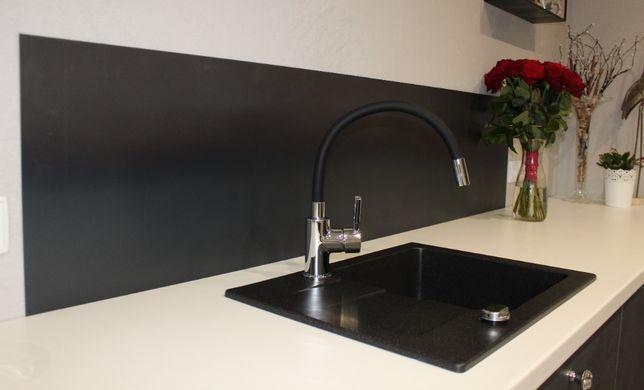 Metalowy panel nad meble kuchenne na wymiar