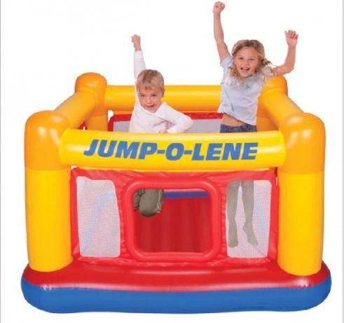 """Детский надувной батут """"Домик"""" Intex Playhouse Jump-O-Lene 48260"""
