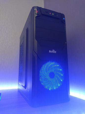 Игровой ПК, компьютер i5/b75/8gb ddr3/rx570/ssd/hdd/500w