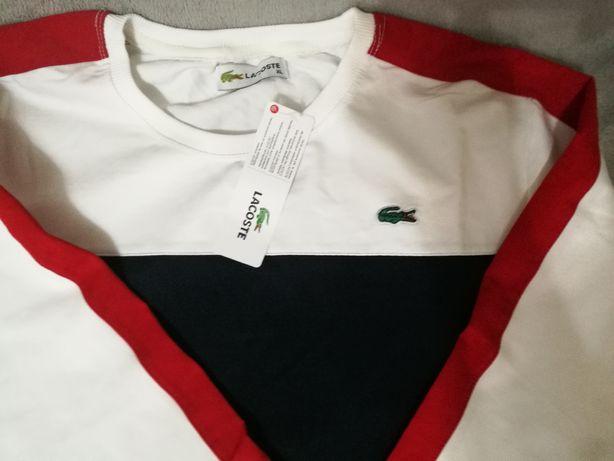 bluza z logo lacoste xl,xxl
