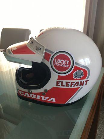 Capacete MDS Cagiva Elefant Lucky Explorer