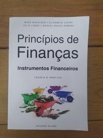 """Livro """"Princípios de Finanças - Instrumentos Financeiros""""Investimentos"""
