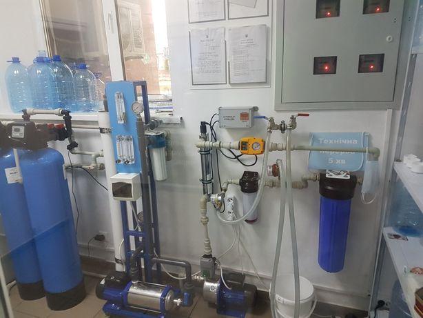 Пункт розлива воды / оборудование по очистке воды