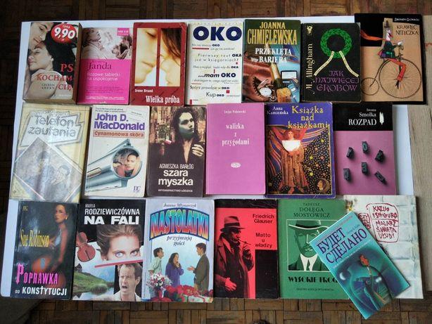 Książki tanio 3 zł sztuka różne tytuły powieści tunele chmielewska G40