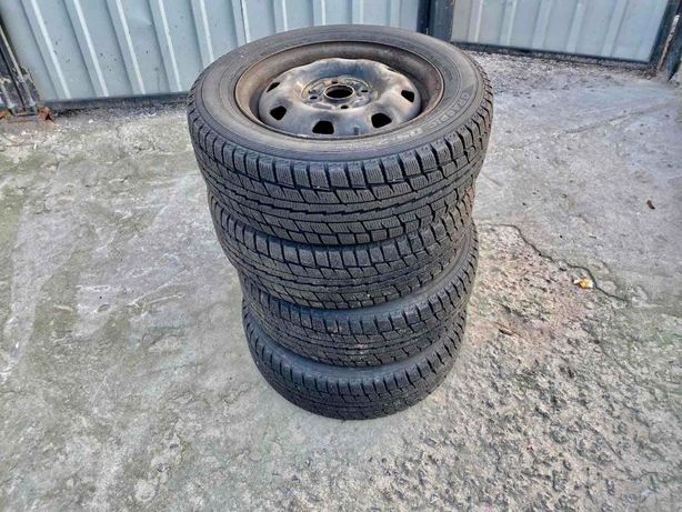 Резина Dunlop Graspic DS2 с дисками r14 185/60 Hyundai Gets
