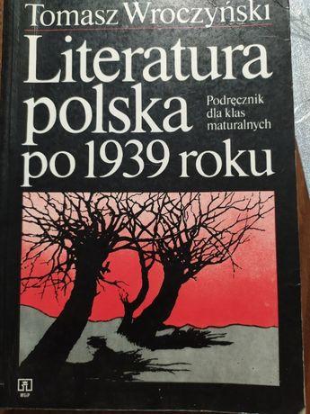 Literatura Polska po 1939 roku Tomasz wroczyński