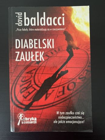 Diabelski zaułek- David Baldacci