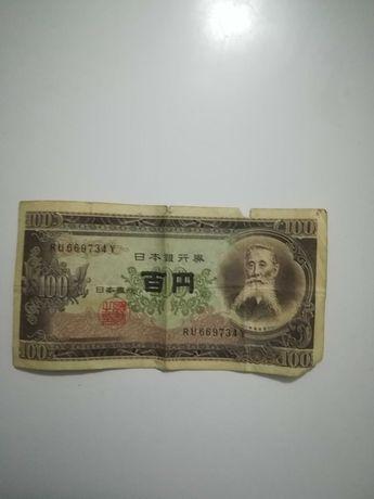 Nota de 100 yen Japão