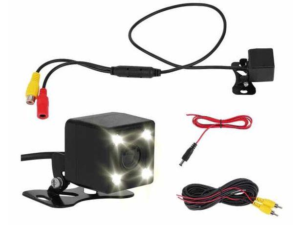 Kamera Cofania Parkowania 4 LED IR Tryb Nocny