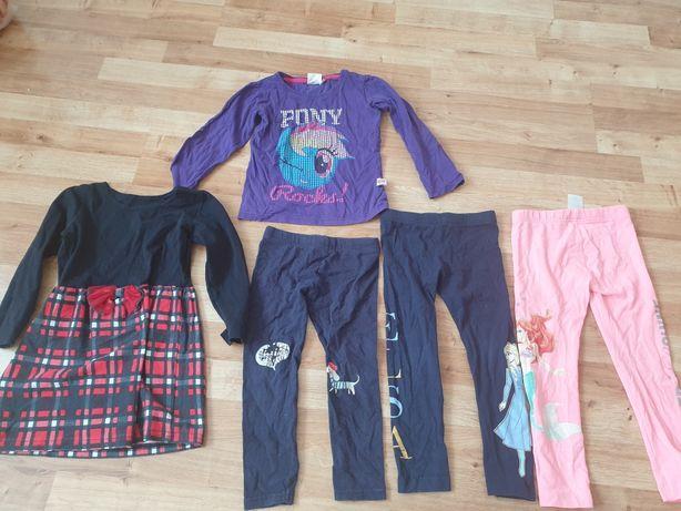 Ubrania dla dziewczynki 104