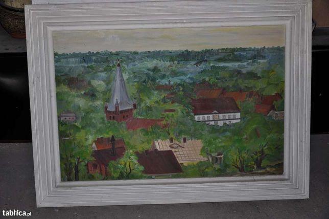 Obrazy farba olejna na płótnie 110x80 cm