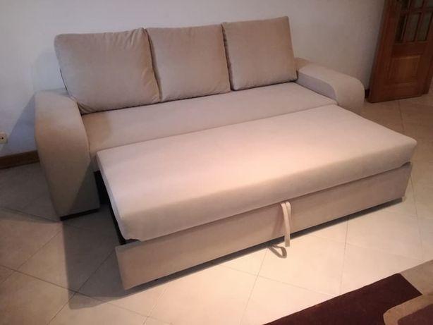 Sofá Redondela cama com 230 cm, novo de fábrica