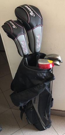 Komplet kijów golfowych 7 szt z torbą
