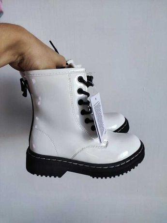 30/31 Reserved! демисезонные сапоги для девочки ботинки мартинсы